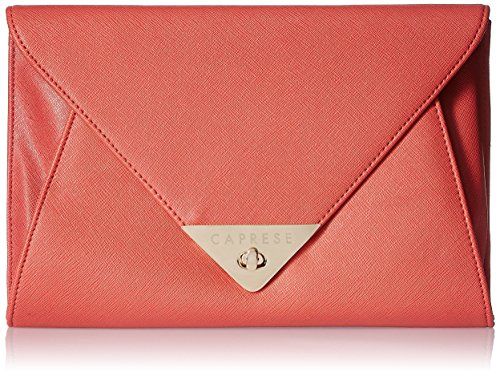 Caprese Audrey Women's Clutch (Red)  available at amazon for Rs.1797
