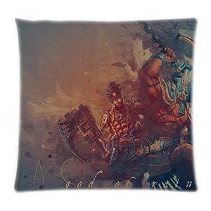 UK-Jewelry Classic Atr Diy Smite Chaac God Of Rain Wallpaper Custom Throw Cool Case Diy Product Pillowcase 18x18 Inch from UK-Jewelry