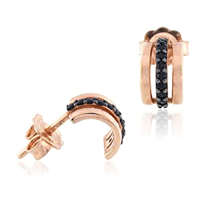 Gioiello Italiano - 18kt rose gold earrings