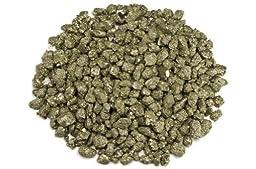Hypnotic Gems Materials: 1 lb Pyrite Fools Gold Small Stones from Peru - 1/2\