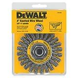 Cable sujetador de alambre de rueda / Carbon Steel .020 pulgadas DEWALT DW4930 4 pulgadas por 5/8- 11