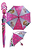 Frozen Portraits Umbrella - pink/multi, one size
