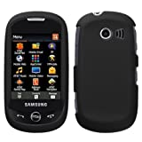 Black Rubberized Hard Protector Case Phone Cover for Samsung Flight II A927