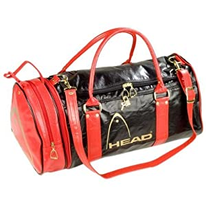 Head Monte Carlo Holdall - Black/Red/Gold: Amazon.co.uk