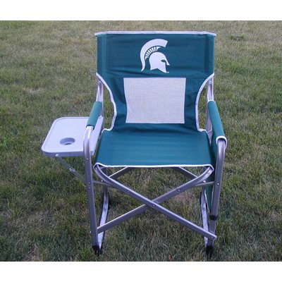 Rivalry Team Logo Tailgating Michigan State Ultimate Directors Chair