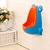 New Frog Children Potty Toilet Training Kids Urinal for Boys Pee Trainer Bathroom