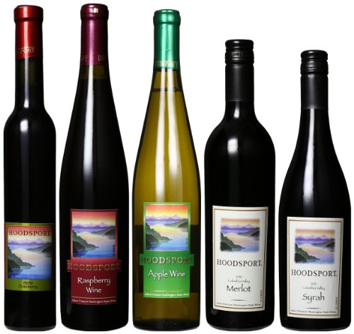 Hoodsport Winery Columbia Valley Sampler Mixed Pack, 6 X 750 Ml