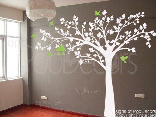 Best white wall decals that look great on darker walls infobarrel