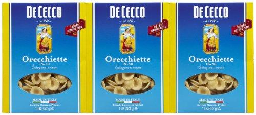 De Cecco Orecchiette, 16 Oz Boxes, 3 Pk
