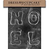 Dress My Cupcake DMCC010 Chocolate Candy Mold Noel Christmas