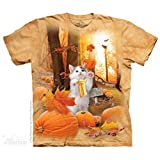 "The Mountain Kinder T-Shirt ""Fall Kitty"""