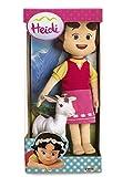 Toy - Studio 100 MEHI00000150 - Heidi Pl�sch Puppe mit Ziege, 30 cm