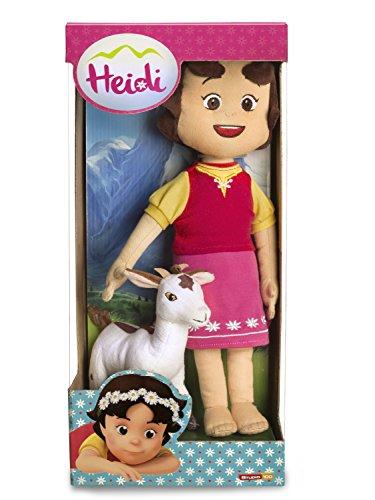 Studio 100 MEHI00000150 - Peluche di Heidi con capretta, 30 cm