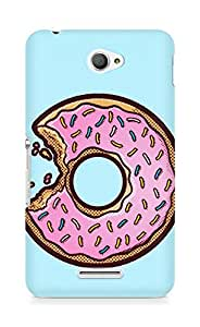 AMEZ designer printed 3d premium high quality back case cover for Sony Xperia E4 (donut)