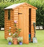 Forest 6X4 Overlap Apex Shed