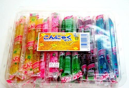 こんにゃくゼリー 50本入【駄菓子】