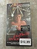 A Nightmare on Elm Street VHS Tape