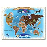 Melissa & Doug Deluxe 500 piece Map of the World Cardboard Jigsaw