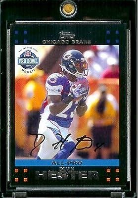 2007 Topps Football # 420 Devin Hester PB - Chicago Bears - ALL-PRO - NFL Trading Cards
