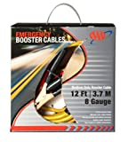 AAA 4324AAA Medium Duty 12' 8 Gauge Booster Cable