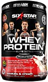 Six Star Pro Nutrition Elite Series Whey Protein Powder, Cookies and Cream, 2lb. (Packaging may vary)