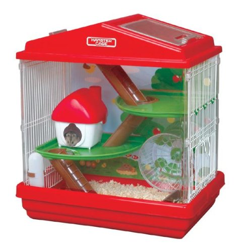 Hamster Playhouse Cage