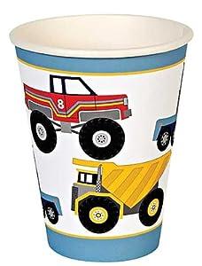 Meri Meri Big Rig Party Cups, 12-Pack from Meri Meri