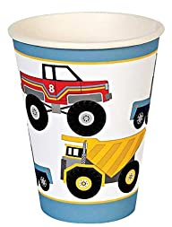 Meri Meri Big Rig Party Cups, 12-Pack