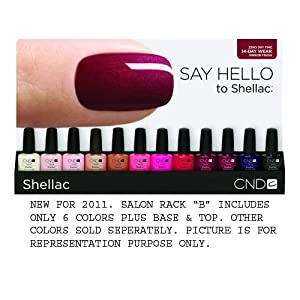 CND Shellac UV Salon Rack SET