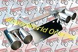 WagonWorld ORIGINAL ラジオフライヤー用バイクプレートステーWマフラー