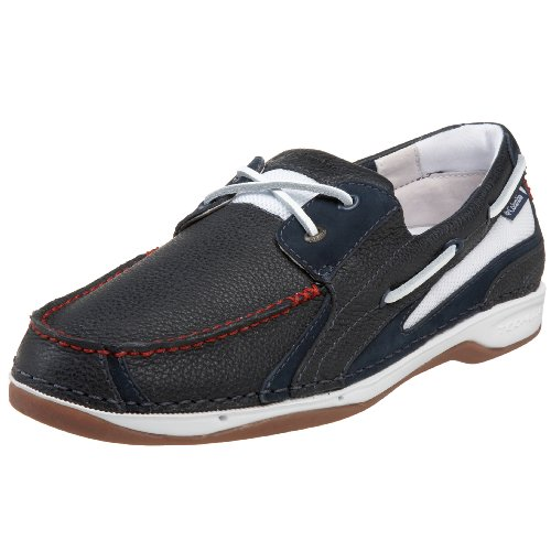 Columbia Men's BM2336 Sea Ray Deck Shoe,Columbia Navy/White,9 M