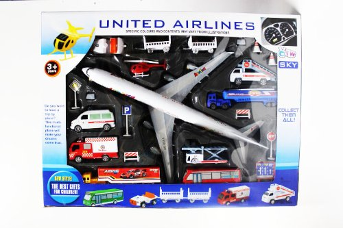 aviation-aerodrome-united-airlines-airport-playset