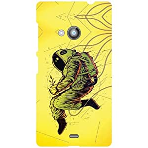 Back Cover For Nokia Lumia 535 -(Printland)