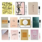 11 Women's Designer Fragrance Vial Sample