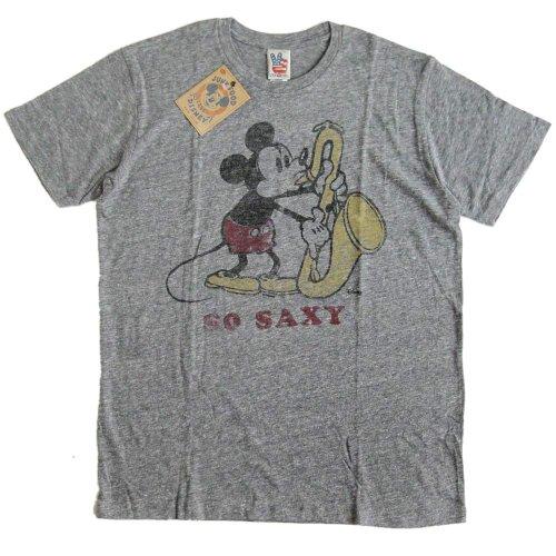 (ジャンクフード)JUNK FOOD メンズ半袖Tシャツ Mickey Mouse/ミッキーマウス/Disney/ディズニー [並行輸入品] M