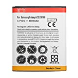 Replacement 1700mAh High Capacity Battery for Samsung i8160 Galaxy Ace 2