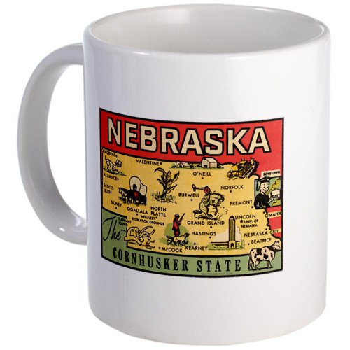 Nebraska Ne Coffee Mug Mug By Cafepress