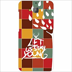 Redmi 2 Back Cover - Lets Stay Young Desiner Cases