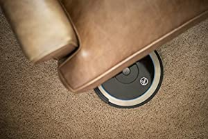 Hoover BH71000 Quest 1000 Wi-Fi Enabled Robot Vacuum Cleaner for Carpet and Hard Floors