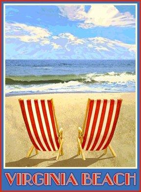 Vintage Beach Chairs 5322