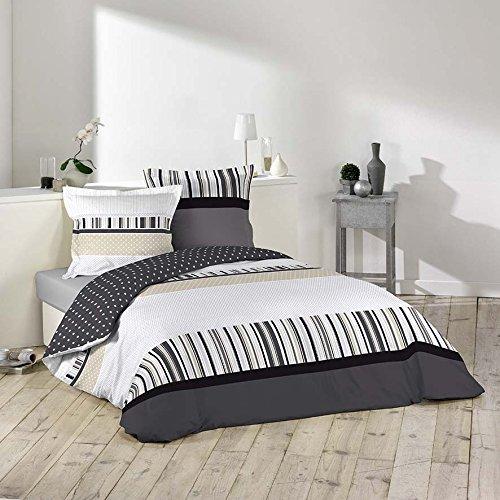 Ligne decor set di biancheria da letto composto da 3 - Amazon biancheria letto ...