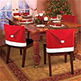Alcoa Prime New Arriva1 Pcs Hot Sale Red Hat Chair Covers Christmas Decorations Dinner Decor Chair Sets Gift High...