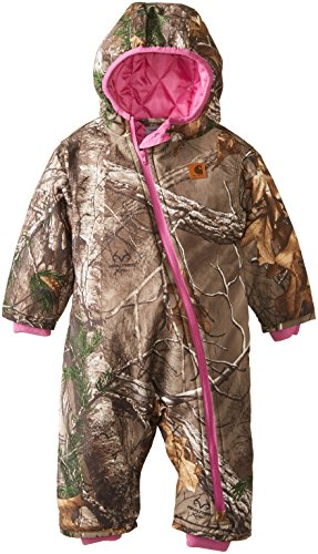Carhartt Baby-Boys Infant Camo Snowsuit, Real Tree, 6 Months front-640199