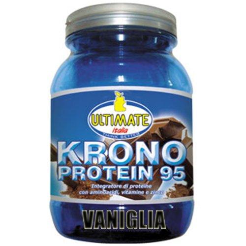 Ultimate Italia Krono vaniglia 1kg proteine a rilascio graduale