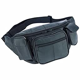 Embassy Large Genuine Leather Waist Bag