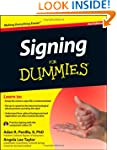 Signing For Dummies, with Video CD