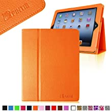 Fintie (Orange) Folio Leather Case Cover For IPad 4th Generation With Retina Display The New IPad 3 & IPad 2 -...
