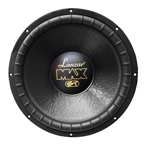 Lanzar Max15D Max 15-Inch 1200 Watt Small Enclosure Dual 4 Ohm Subwoofer