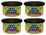 Californian Car Scents f366 Gardenia Del Mar Air Freshener (Pack of 4)