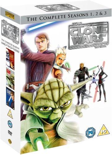 Star Wars Clone Wars - Season 1-3 [DVD]